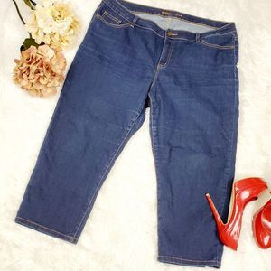Michael kors capri blue jeans size 18w